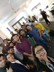 Digital Marketing Training in Bangalore, Marathahalli- Talenteye Academy students at SEOTalk Event